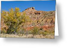 Autumn In Palo Duro Canyon 110213.119 Greeting Card