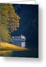 Autumn In Princess Louisa Inlet Greeting Card