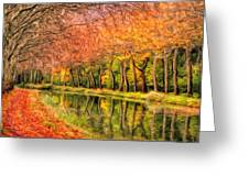 Autumn In Provence Greeting Card