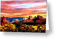 Autumn In Red Rock State Park Greeting Card