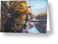 Autumn In Schiedam Greeting Card