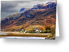 Autumn In Scotland In Dornie Greeting Card