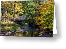 Autumn In Stillwater Greeting Card