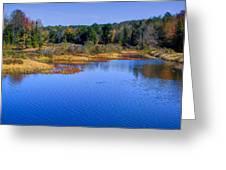 Autumn In The Adirondacks II Greeting Card