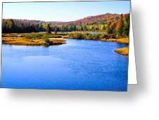 Autumn In The Adirondacks IIi Greeting Card