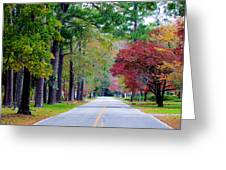 Autumn In The Air Greeting Card