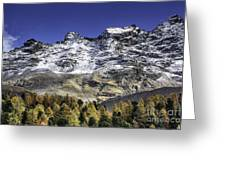Autumn In The Alps 1 Greeting Card