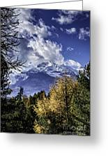 Autumn In The Alps 2 Greeting Card