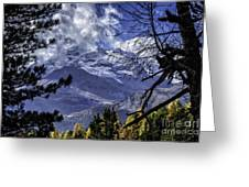 Autumn In The Alps 3 Greeting Card