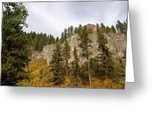 Autumn In The Canyon Greeting Card
