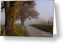 Autumn In The Cove Greeting Card