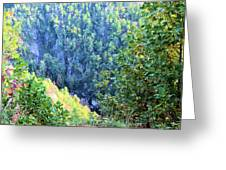 Autumn In The Gorge Greeting Card