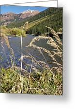 Autumn In The Maroon Bells Greeting Card