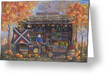 Autumn In The Ozarks Greeting Card