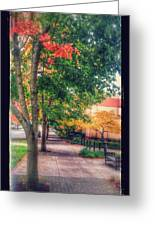 Autumn In Vancouver Washington Greeting Card