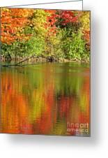 Autumn Iridescence Greeting Card