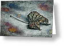 Autumn Is Around The Corner Greeting Card