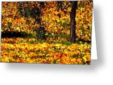 Autumn Leaves Greeting Card