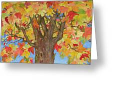 Autumn Leaves 1 Greeting Card