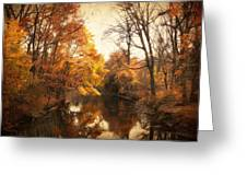 Autumn Lingers Greeting Card