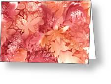 Autumn Monochrome Greeting Card