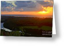 Autumn Morning Over Wailua Greeting Card