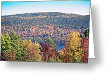 Autumn Mountain Greeting Card