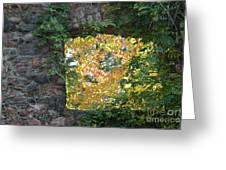 Autumn Naturally Framed Greeting Card