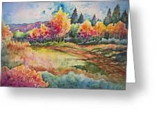 Autumn Near Taos Greeting Card