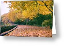 Autumn - New York City - Fort Tryon Park Greeting Card