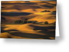 Autumn Of Rolling Hills Greeting Card