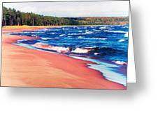 Autumn On Lake Superior Greeting Card