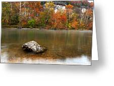 Autumn On Meramec River Greeting Card