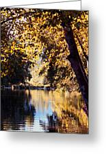Autumn On The Applegate Greeting Card