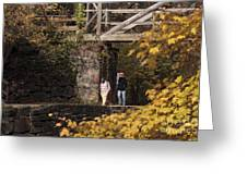 Autumn On The C And O Canal Greeting Card