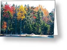 Autumn On The Fulton Chain Of Lakes In The Adirondacks II Greeting Card
