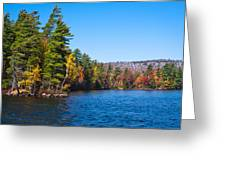 Autumn On The Fulton Chain Of Lakes In The Adirondacks IIi Greeting Card