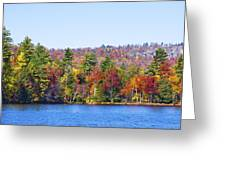 Autumn On The Fulton Chain Of Lakes In The Adirondacks Iv Greeting Card