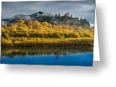 Autumn On The Klamath 2 Greeting Card