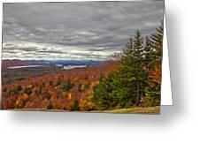 Autumn On Top Of Mccauley Mountain Greeting Card