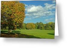 Autumn Panorama 1 Greeting Card