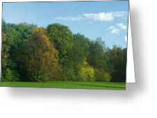 Autumn Panorama 3 Greeting Card