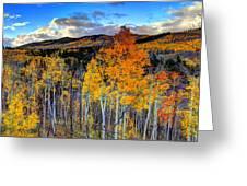 Autumn Pass Greeting Card
