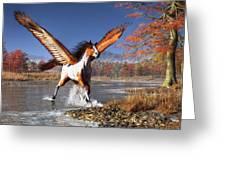 Autumn Pegasus Greeting Card