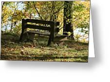 Autumn Pleasures Greeting Card