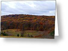 Autumn Postcard From Valley Forge Greeting Card