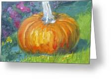 Autumn Pumpkin Greeting Card
