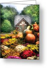 Autumn - Pumpkin - This Years Harvest Was Awesome  Greeting Card