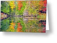 Autumn Rainbow Greeting Card
