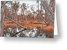 Autumn Reflections V2 Greeting Card